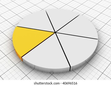Silver and Gold Pie chart
