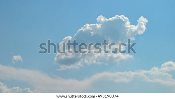 silver lining behind baby elephant cloud