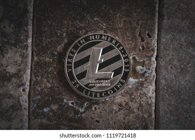 Silver Litecoin Cryptocurrency Token