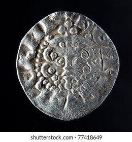 Silver long cross penny from the reign of King Edward I 1272-1307