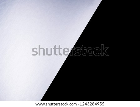 Silver Matt Black Abstract Color Paper Stock Photo Edit Now