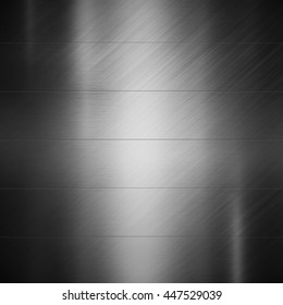 Silver metal texture.Polished metal background.