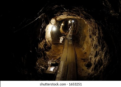 Silver Mine in the Rockies