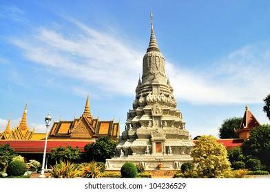 The Silver Pagoda of Royal Palace? Phnom Penh, Cambodia