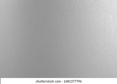 Silver paper texture background, Side View.