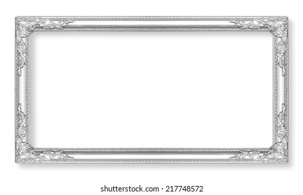 Silver Picture Frame Images, Stock Photos & Vectors   Shutterstock