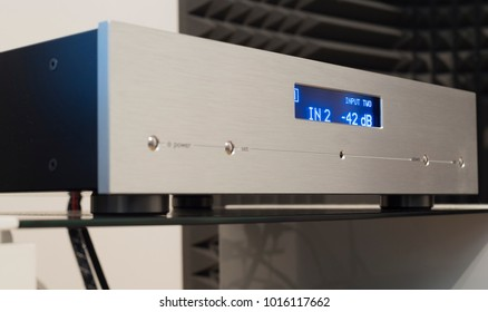 Silver Stereo amplifier