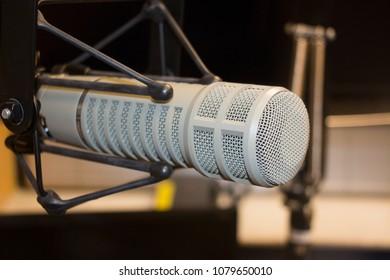 Silver Studio Microphone