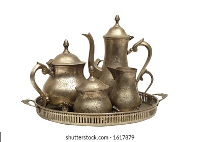 Silver Tea Set Images Stock Photos Vectors Shutterstock