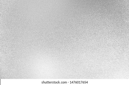 Silver texture backgorund. White christmas lights glitter