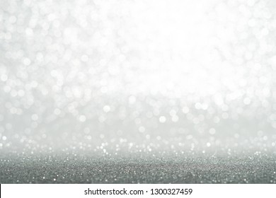 silver and white glitter texture christmas abstract background