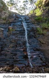 Silverband Falls in the Grampians region of Victoria, Australia.