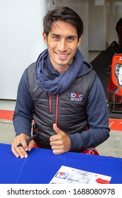 Silverstone Circuit, England. 08/31/2019. Race driver Paul Loop Chatin, IDEC Sport LMP2. Autograph signing session for the ELMS 4 Hours of Silverstone.