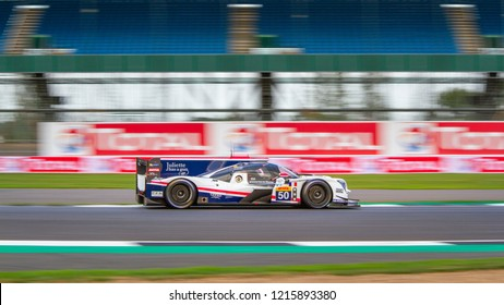 Silverstone Circuit, Northamptonshire, England, August 17 2018. #50 Labre Competition LMP2 during the WEC 6 Hours of Silverstone
