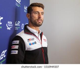 Silverstone Circuit, UK, 29 Aug - 1 Sept 2019. José Maria López, driver for Toyota Gazoo Racing. WEC 4 Hours of Silverstone
