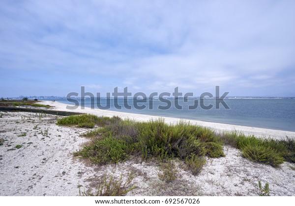 Silverstrand Beach Coronado Bay, San Diego, California