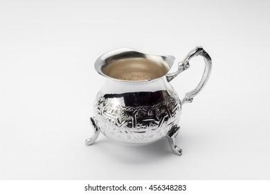 Silverware milk pot