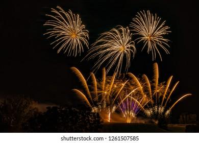 silvester fireworks pyrotechnics
