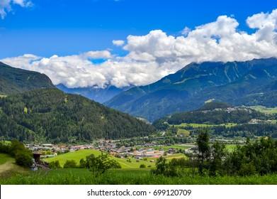 The Silvretta massif in the Central Eastern Alps in Austria