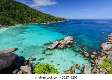 similan beautiful sea Thailand