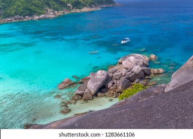 Similan island at andaman sea, Phuket, Thailand