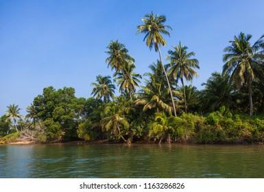 Similan island coast near Phuket in Thailand
