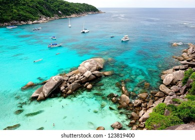 Similan islands national park, Thailand
