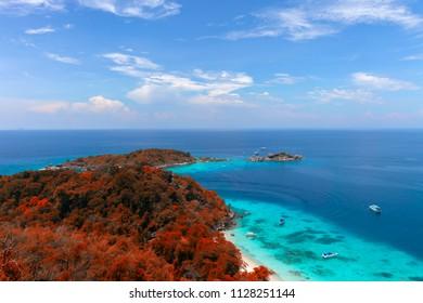 Similan Islands. Thailand.