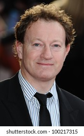 """Simon Beaufoy arrives for the """"Salmon Fishing in the Yemen"""" premiere at the Odeon Kensington, London. 10/03/2012 Picture by: Steve Vas / Featureflash"""