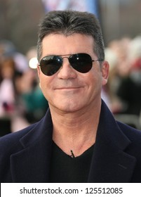 Simon Cowell at  the Britain's Got Talent auditions held at Wales Millennium Centre, Cardiff, Wales. 16/01/2013 Picture by: Henry Harris
