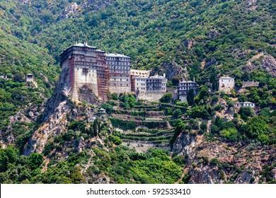 Simonopetra monastery, Mount Athos