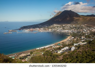 Simon's Town harbour and town in Cape Town, South Africa
