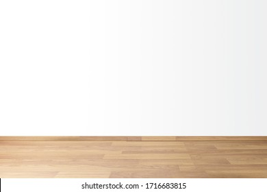 Simple background with empty thick wooden and blank white wall, concept Space for relaxing in house  - Shutterstock ID 1716683815