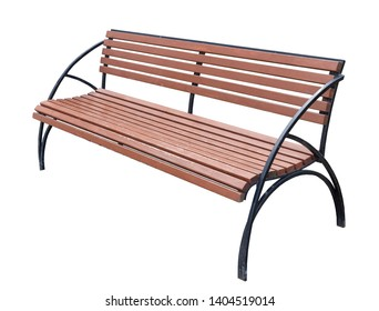 Miraculous Isolated Park Bench Stock Photos Images Photography Caraccident5 Cool Chair Designs And Ideas Caraccident5Info