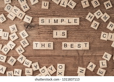 simple is the best
