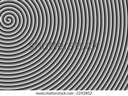 Simple Black White Spiral Background Design Stock Photo Edit Now