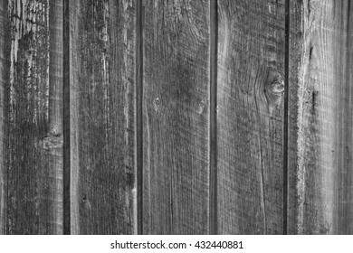 Simple black and white wooden wall background.