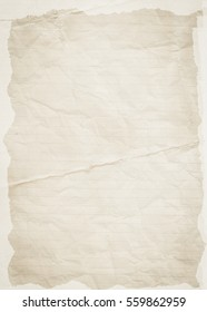 Simple brown paper background. Paper texture.
