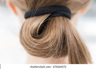 Simple done lock of hair