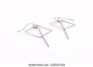 Simple drop dangle earrings