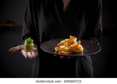 simple and elegant fine dining cuisine
