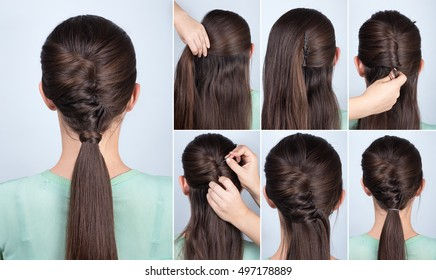 Hairstyle Steps High Res Stock Images Shutterstock