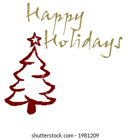 Simple Holiday Greeting
