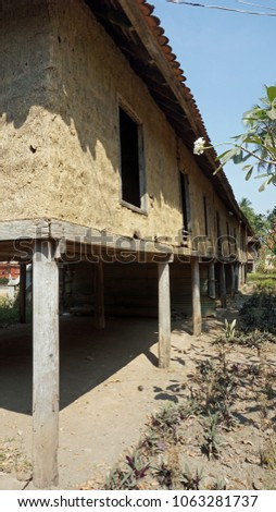 Simple House Battambang Village Cambodia Stock Photo Edit Now