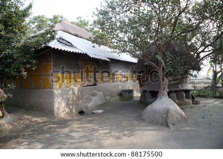 Simple House Bengali Village Stock Photo Edit Now 88175500