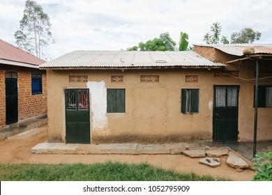 simple house in Uganda, Africa