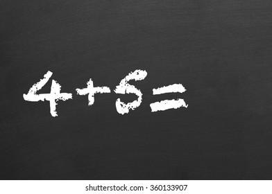 simple mathematical equation