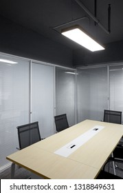 Simple meeting room interior