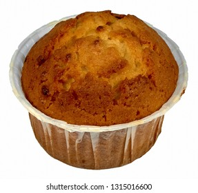A simple muffin without toppings