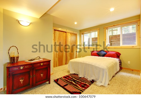 Simple New Bedroom Green Walls | Transportation, Interiors ...
